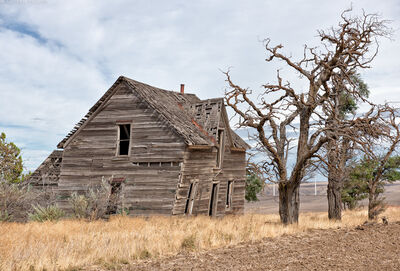 Andrew Prokos, 'Abandoned Farmhouse, Biglow Canyon #1', 2020