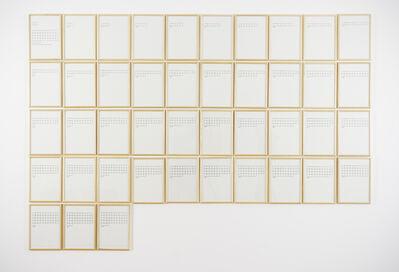 Hanne Darboven, 'Ein Jahr: 1970', 2007