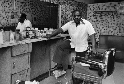 Dawoud Bey, 'Deas Mcneil, the Barber, 1976', 1976