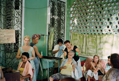 Tria Giovan, 'Beauty Salon in Vedado-Havana, Cuba & The Cuba Archive. Photographs 1990-1996 Book', 1993