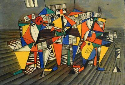 José Gurvich, 'Tres músicos', 1968