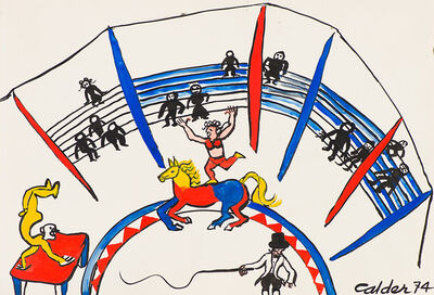 Alexander Calder, 'Chapiteau (Circus Tent)', 1975