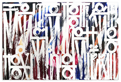 RETNA, 'The Scent Of The Colour Spring Diptych', 2017