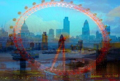 Davide Bramante, 'My own Rave. Londra (Ruota + Sky line)', 2007-2013
