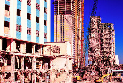 Mitchell Funk, 'Broken Building Miami', 1999