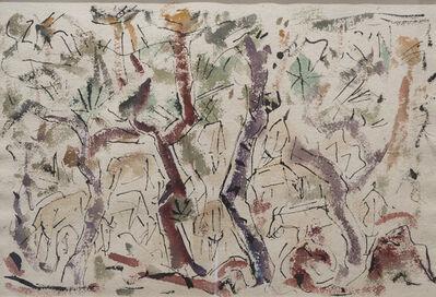 B. J. O. Nordfeldt, 'Goats, Mexico', 1955