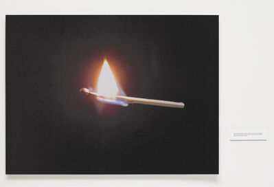 Robert Whitman, 'Burning Match', 2015