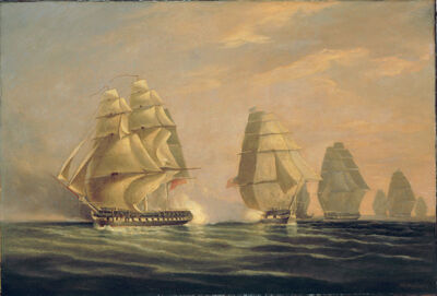 William John Huggins, 'The First Naval Action in the War of 1812', 1816