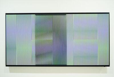 Carlos Cruz-Diez, 'Cromointerferencia mecánica Caura C', 2017