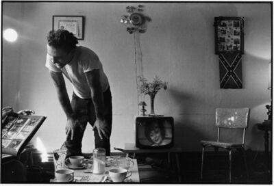 Danny Lyon, 'Corky at home, Chicago, The Bikeriders Portfolio', 1965