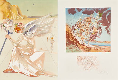 Salvador Dalí, 'Return of Ulysses/Helen of Troy from Hommage à  Homère', 1977