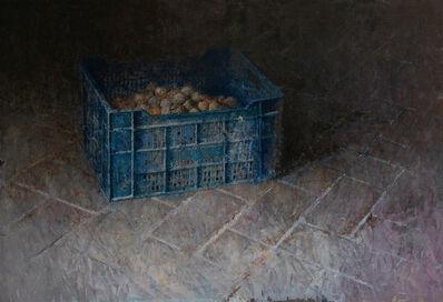 Pedro Escalona, 'La caja azul', ca. 2019