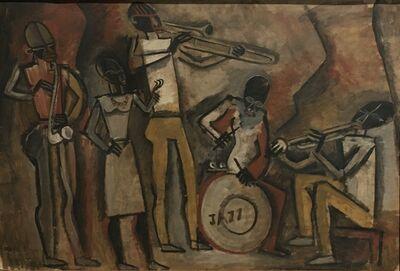 Augusto Torres, 'Músicos de Jazz', 1938
