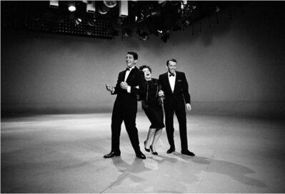 Douglas Kirkland, 'Dean Martin, Judy Garland and Frank Sinatra', 1961