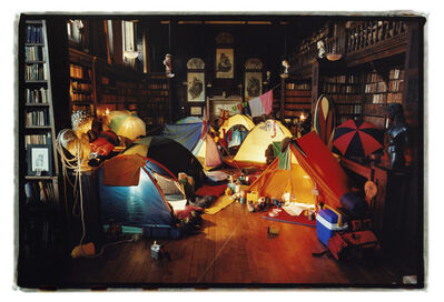 Tim Walker, 'It Rained Outside, so we camped inside, Chanter's House, Devon, England,', 2002