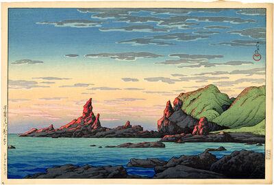 Kawase Hasui, 'Ryuga Island, Oga Peninsula', ca. 1926