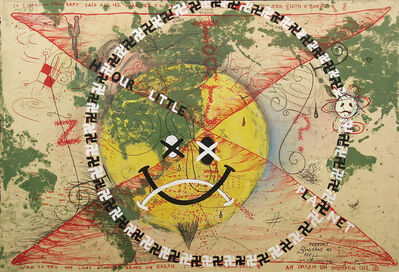 Terry Allen, 'Hour Little Planet', 1992