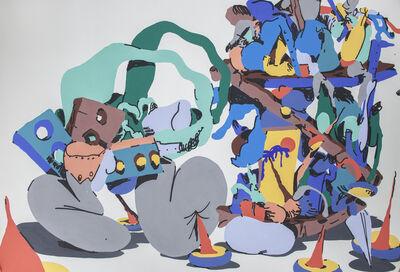 Antwan Horfee, 'Smurfy Book Shelve', 2014