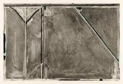 Richard Diebenkorn, 'Folsom Street Variations II (Grey)', 1986