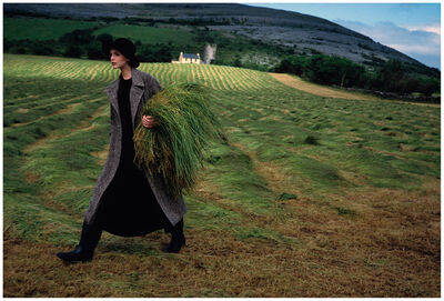 Arthur Elgort, 'Nadja Auermann in Ireland, Vogue', 1993