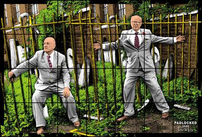 Gilbert and George, 'PADLOCKED', 2020