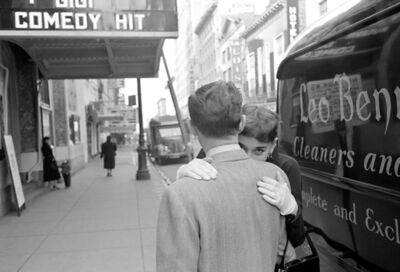 Lawrence Fried, 'Audrey Hepburn, The Hug', 1951