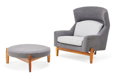 Pucci, 'Lounge chair and ottoman, USA', 2000s