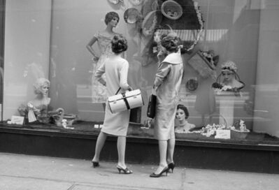 Vivian Maier, 'w06332-33 –1956, Women window shopping', 2015