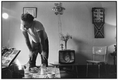 Danny Lyon, 'Corky at home, Chicago, from The Bikeriders', 1966