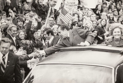 Ken Regan, 'Nixon Campaigning for Re-Election in West Chester County', 1972