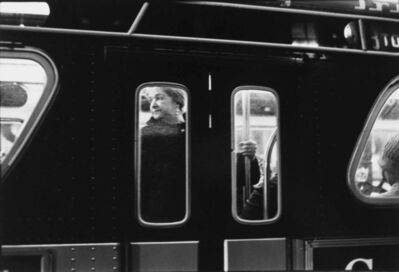 Ernest Stone, 'Woman on Subway, New York A to Z', 1970s-print date unknown