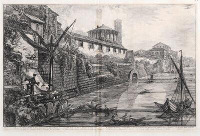 Giovanni Battista Piranesi, 'Veduta delle Antiche Sostruzioni', 1776