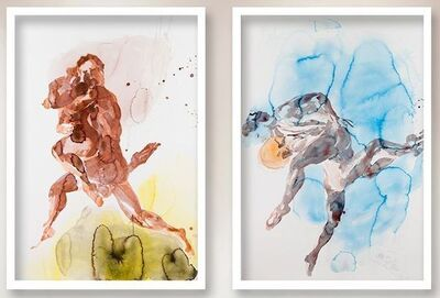 Eric Fischl, 'The Dancers Suite: Red Couple and Blue Couple', 2013