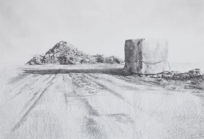 Andrés Moya, 'Artificial mountain N1', 2009