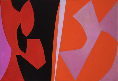 Lorser Feitelson, 'Magical Space Forms', 1952-1954
