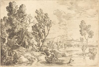 Gaspard Dughet, 'Roman Landscape'