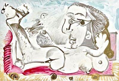 Pablo Picasso, 'Nu Couche Loiseau', 1982