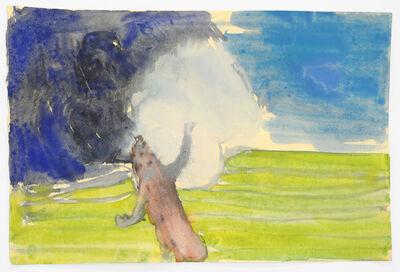 John Benicewicz, 'Untitled (Figure in Landscape)', 2015