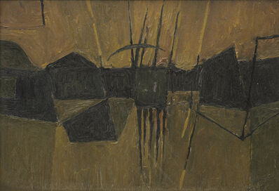 Alan Reynolds, 'Structure from a Landscape', 1959