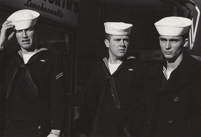 Ed Sievers, 'Untitled (three sailors)', c. 1960's