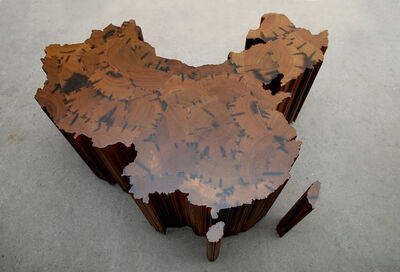 Ai Weiwei, 'Map of China', 2008