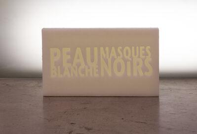 Amina Zoubir, ' Peau blanche masques noirs', 2019