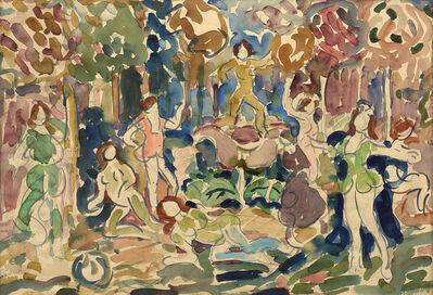 Maurice Brazil Prendergast, 'Dancing Figures No. 1', 1910-1913