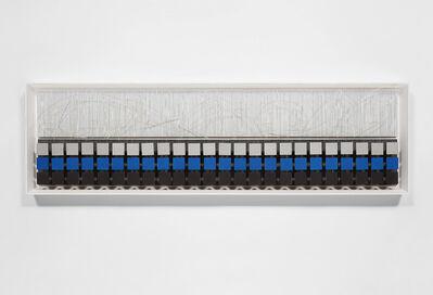 Jesús Rafael Soto, 'Cuadrados y escritura blanca', 1979