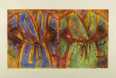 Jim Dine, 'Behind the Thicket (Carpenter 68)', 1993
