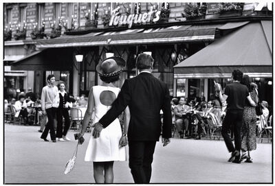 Elliott Erwitt, 'France, Paris, 8th arrondissement', 1970
