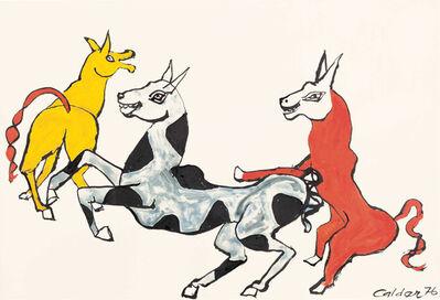 Alexander Calder, 'Rire jaune', 1976