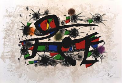 Joan Miró, 'Painting= Poetry | Peinture = Poesie', 1976