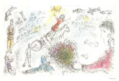 Marc Chagall, 'L'ame du Cirque', 1981