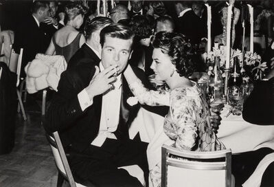 Frank Worth, 'Natalie Wood and Robert Wagner at Oscar Dinner, Los Angeles', 1959